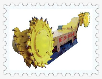 控制器(plc)来实现,带有中文显示功能,能显示采煤机正常运行状态及