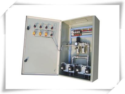 二台潜水泵控制箱电路图